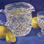 Sparkling Water with Lemon - Pastel
