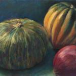 Squash and Onion - Pastel