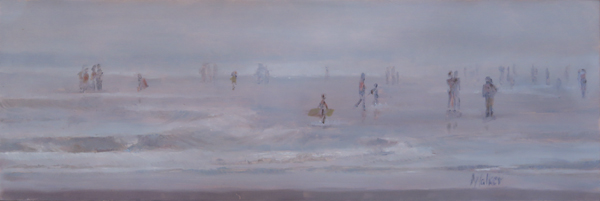 Haze and Blue - Oil Painting