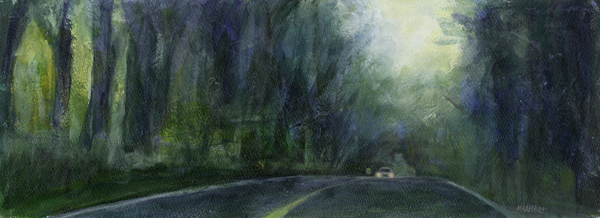 Road to Chelsea - Acrylic