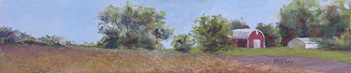 Long Michigan Farm - Oil Painting