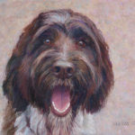 Oatmeal the Dog - Pastel