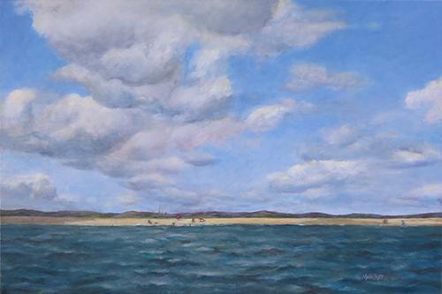 Rhode Island Coast - Oil Painting