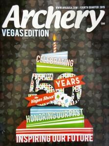 Arcehry Magazine Cover - Vegas Edition