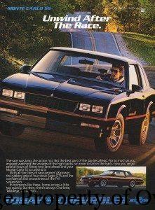 Chevy Monte Carlo SS author unknown