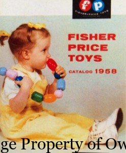 FP 1958 toy catalogue