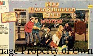 TG babysitters club game
