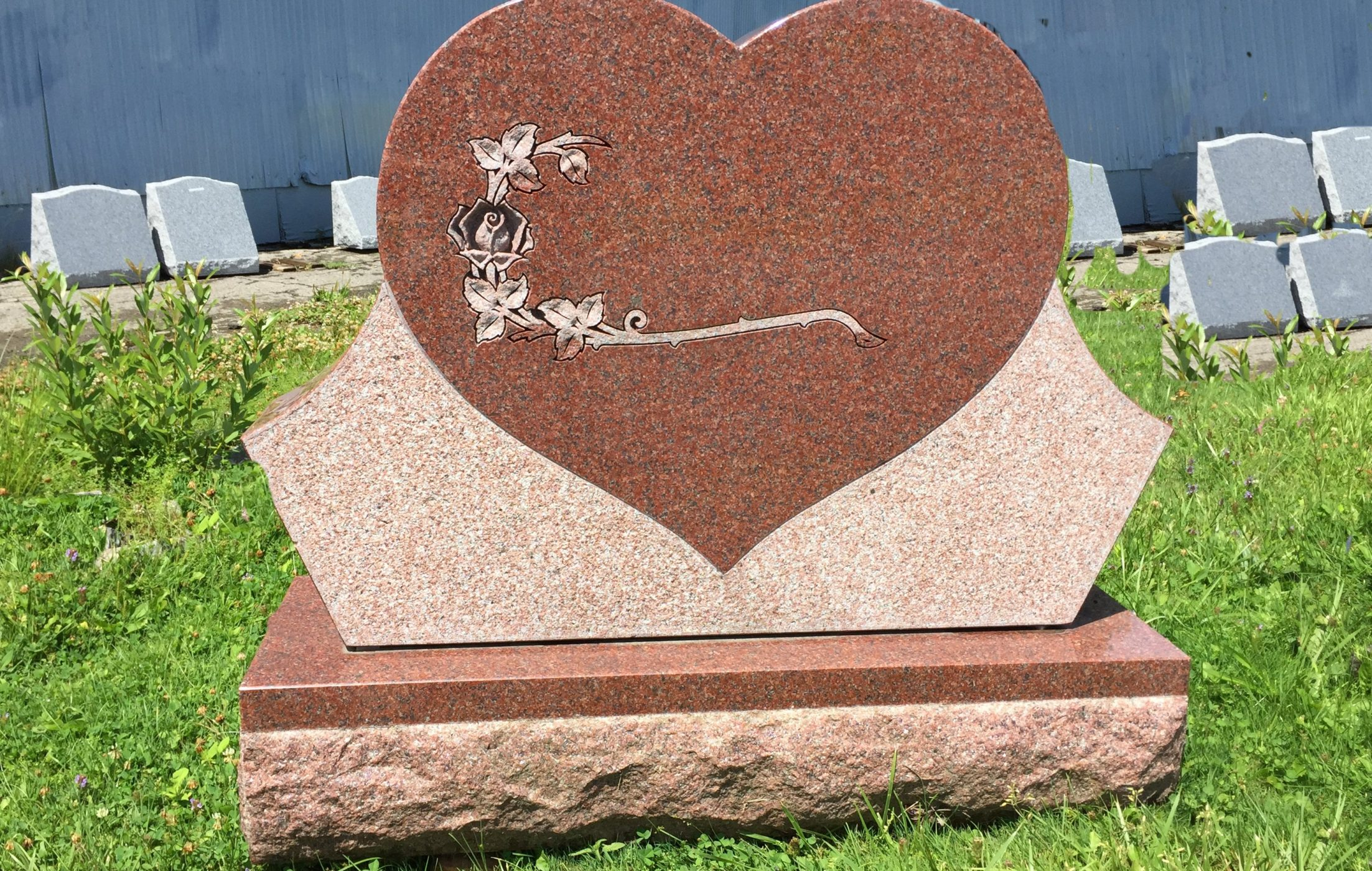 Heart and Rose Monument