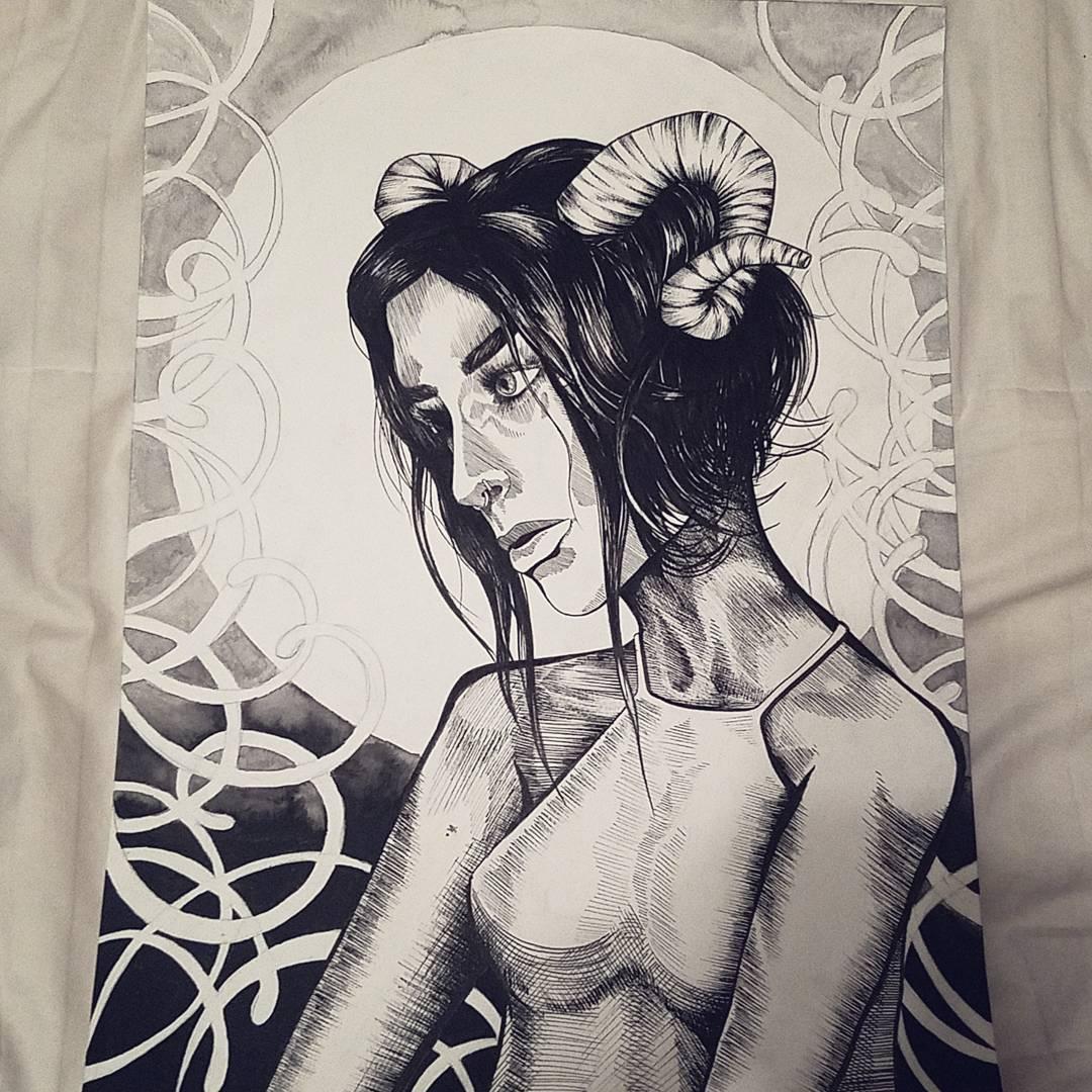 Artist Profile: Erin Jackson (eronada) | NOISY IRRATIONAL ARTWORK