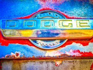 Dodge Hood Emblem