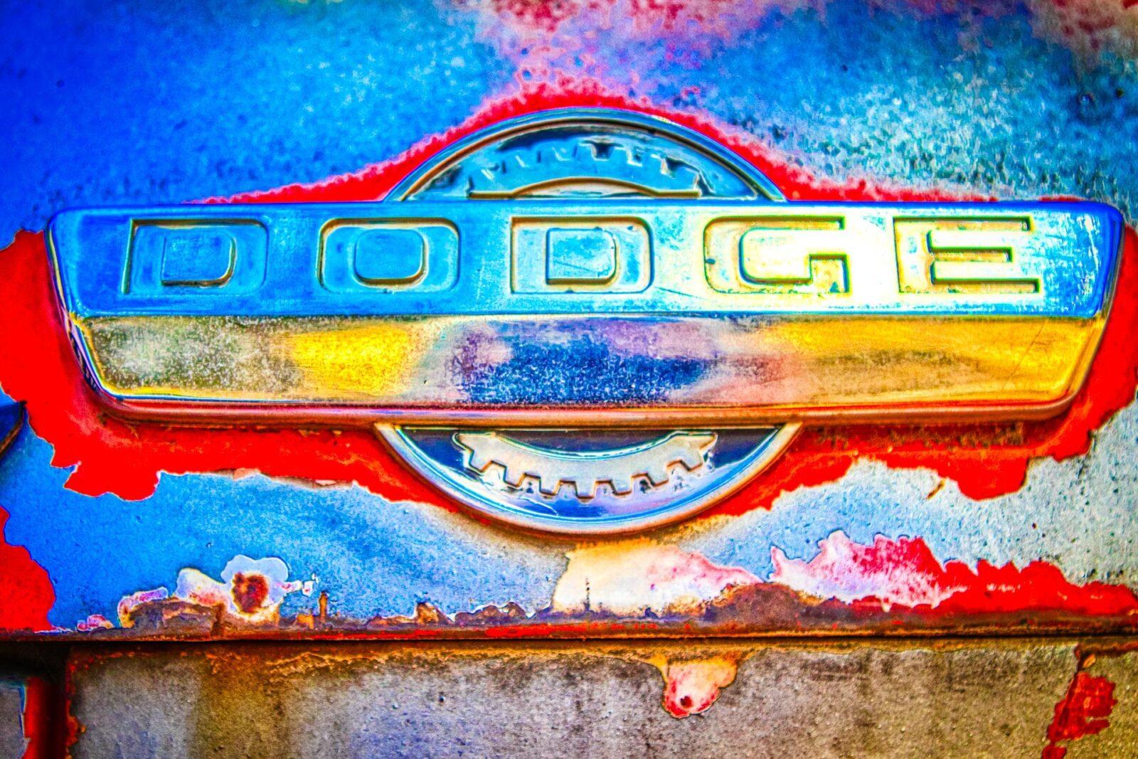 Dodge Auto Hood Emblem