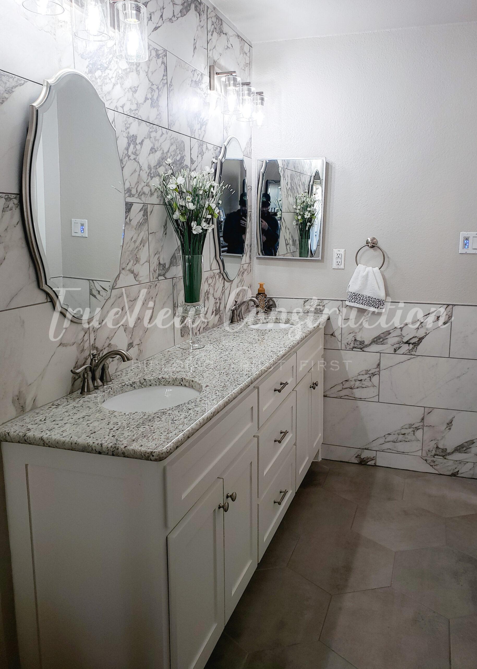 TrueView Construction - Custom Bathroom