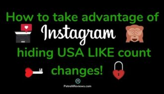 brown monkey covering eyes, red heart lock with key to describe Instagram hiding like count for USA users