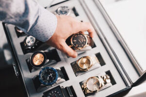 expensive mens watch collection
