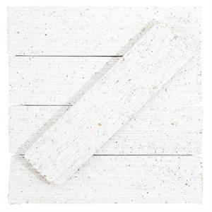 Urban Brick Stroke – Matte White