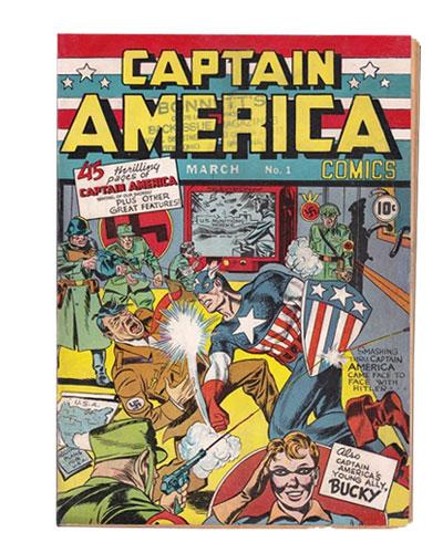 Comic Book Restoration - Captain America AFTER
