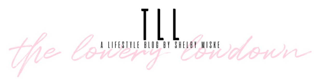 Shelby Lowery Blog- Lowery Lowdown