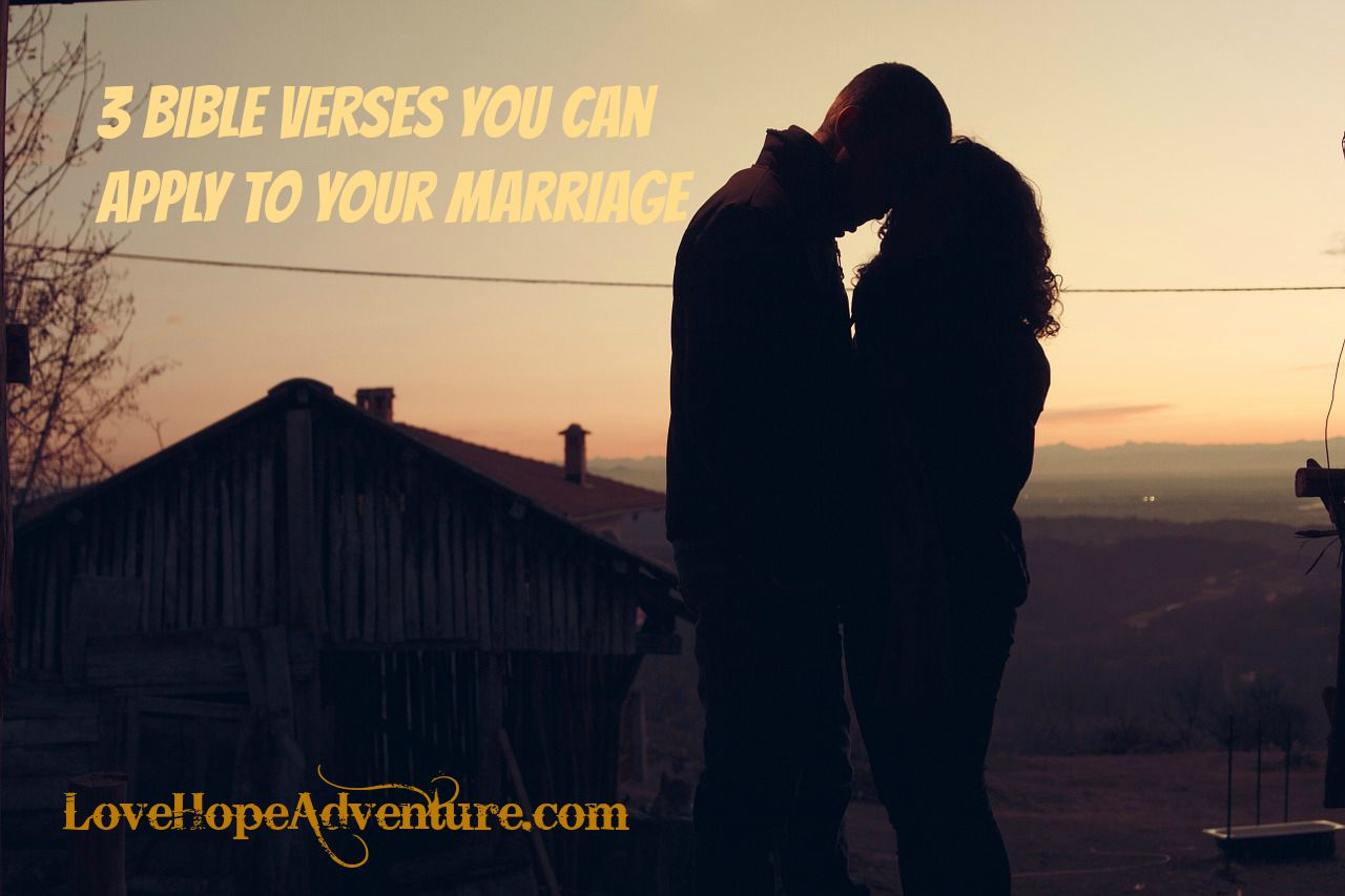 3 bible verses you can apply to your marriage