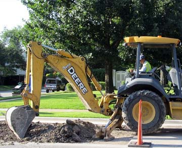 Backhoe Repair Tampa Orlando