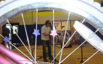 Hallsburg Elementary School Bicycle Safety Event 2017