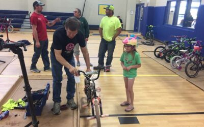 Updated with new pics: Hallsburg Elementary School Bicycle Safety Event 2019