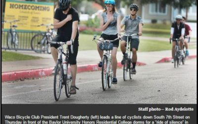 WBC Memorial bicycle ride honors Baylor student killed in hit-and-run