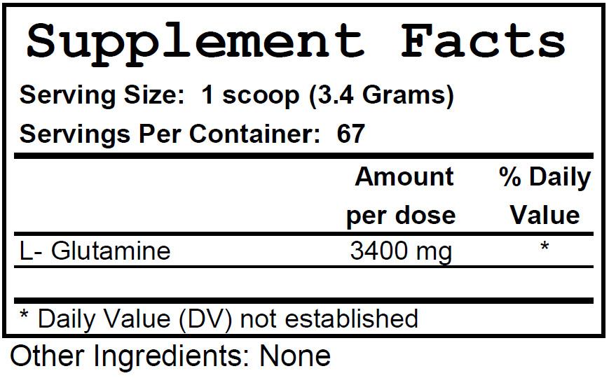 GlutaminePowder_ingredients