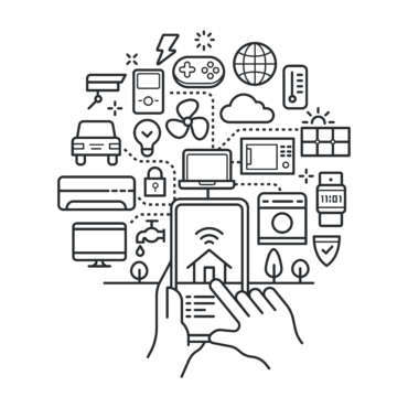 Connected Home Automation Systems