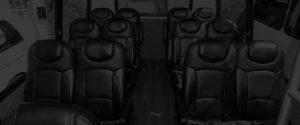 Passenger bus for group travel