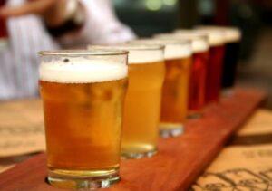 beer crawl transportation