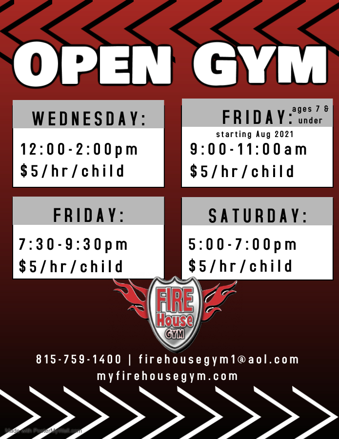 Open Gym August 2021