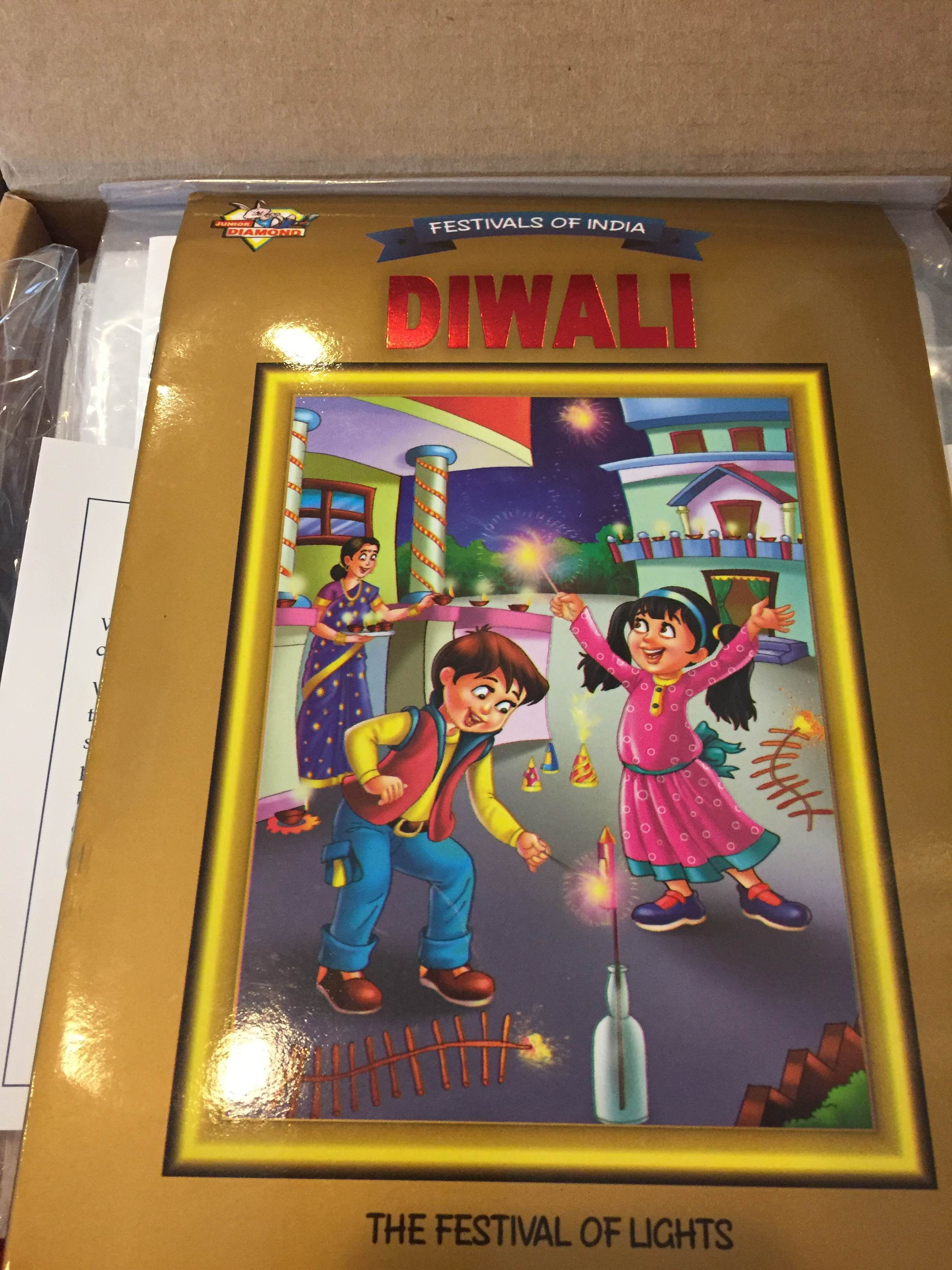 Teaching a child about Diwali