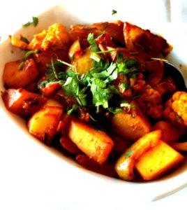 healthy and delicious Aloo Gobi