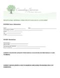 CSSM Professional Referral Form (2021 Ed.)