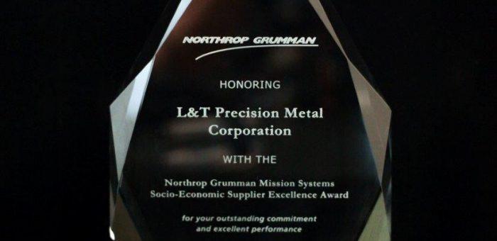 Northrop Grumman's Socio-Economic Supplier Excellence Award