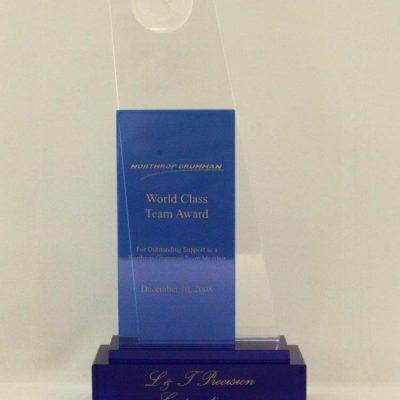 Northop Grumman's World Class Team Award to L&T Precision 2008