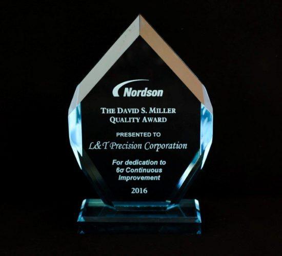 Nordson's David S. Miller Quality Award