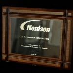 Recognition from Nordson for Exceptional Performance & Support to L&T Precision 2011-2014