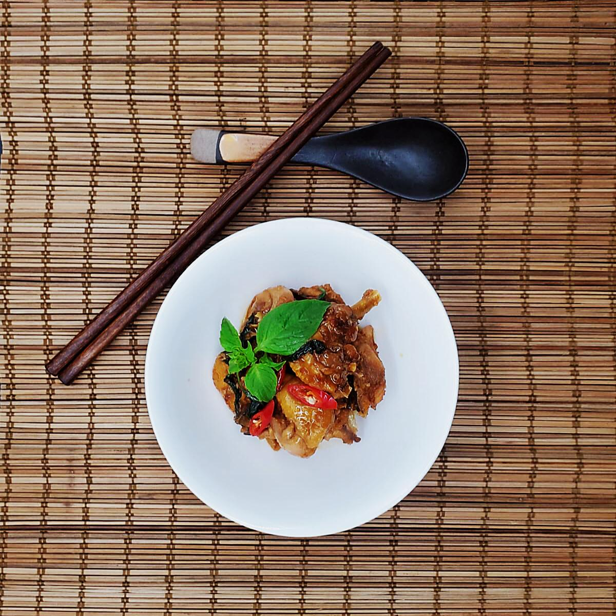 Authentic Taiwanese Rice Wine Soy Sauce Chicken