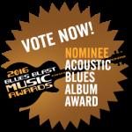 Matt Woods Nominated for Blues Blast Award!