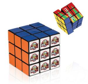 Rubik's Cube with Company Logo