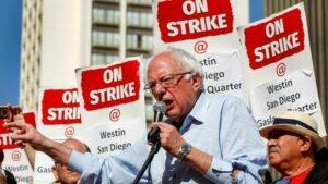 Bernie Sanders and the Berlin Wall