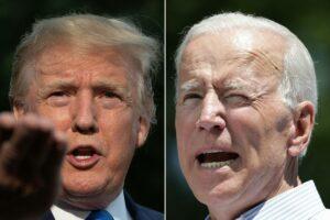Trump Polls Lower Than Biden In Four Key Swing States