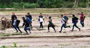 Illegal Immigrants Entering U.S.