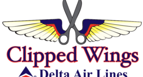 Delta Clipped Wings Cartoon