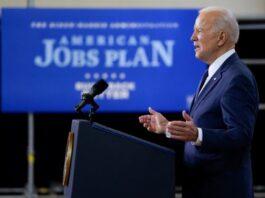 Joe Biden Presenting American Jobs Plan