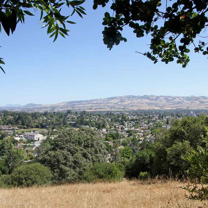 View of West Petaluma