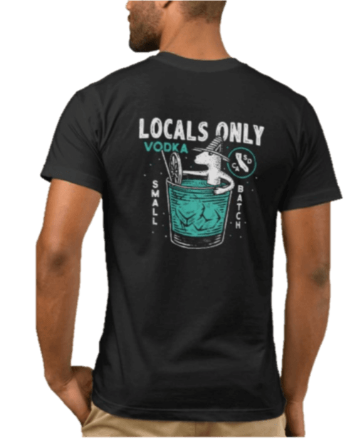 Drink Like a Local T back
