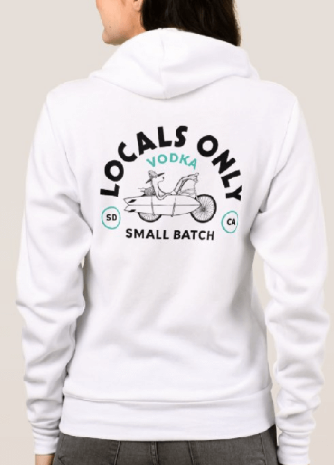 Live Like a Local Hoodie – Womens