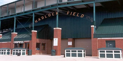 General Construction banner image featuring Hadlock Field.